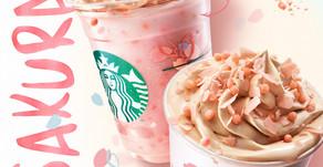 Limited Edition Starbucks Sakura Blossom Cream Frappuccino