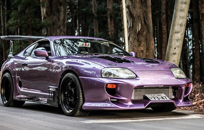 Purple Supra