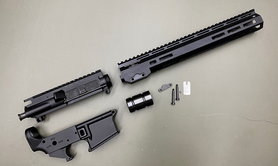 AR15 Builder Kit - 14.5