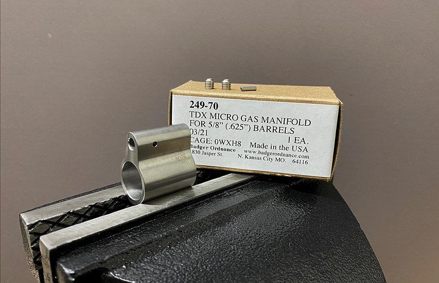 TDX .625 Gas Block