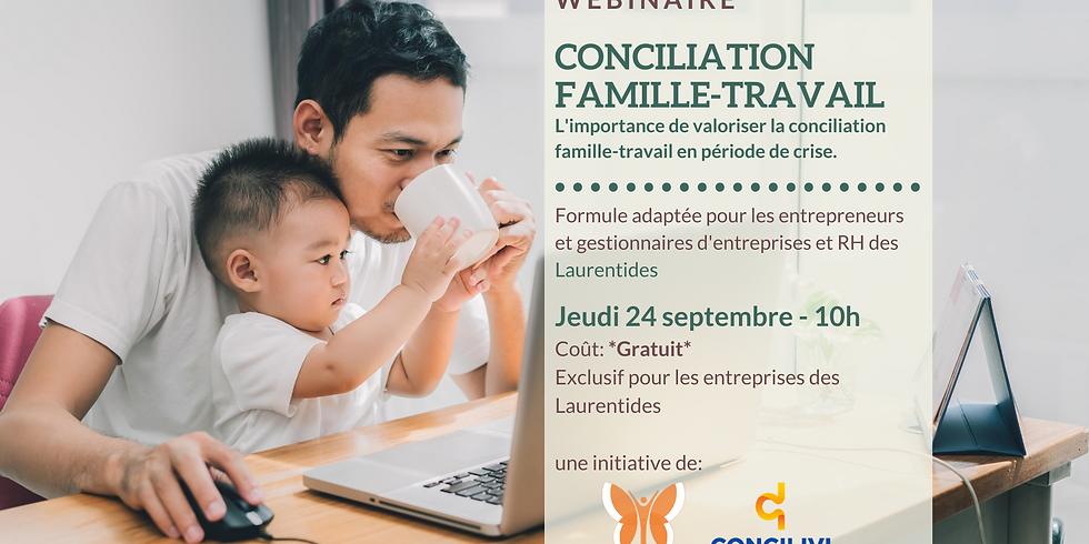 Webinaire - L'importance de valoriser la conciliation travail-famille