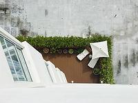 Jardín de techo
