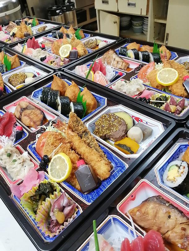 3000円のお弁当です。