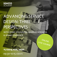 Advancing Service Design: three perspectives