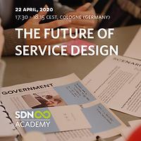 Free lecture: The Future of Service Design