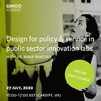 Design for policy & service in public sector innovation labs