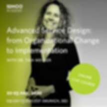 Advanced Service Design: from Organizational Change to Implementation