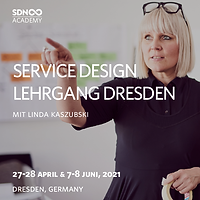 Service Design Lehrgang 2021 Dresden