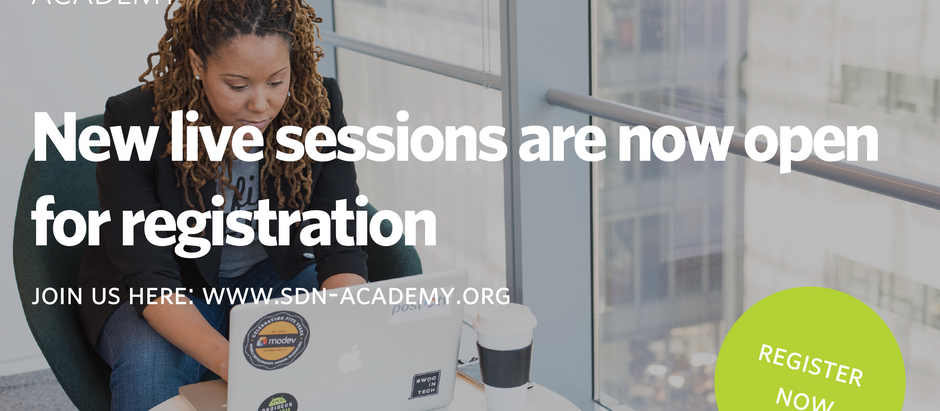 SDN Academy launches new live sessions