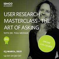 User Research Masterclass -  The art of asking