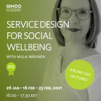 Service Design for Social Wellbeing