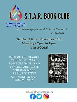 S.T.A.R. Book Club Flyer