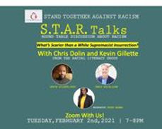 S.T.A.R. Talks: What's Scarier Than a White Supremacist Insurrection