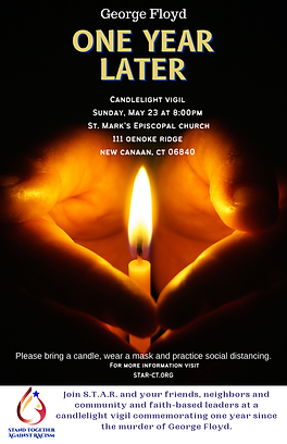 One Year Later Candlelight Vigil