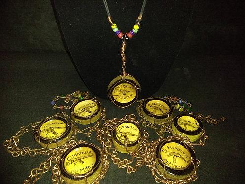 Guerrilla Republik Bamboo Copper Necklace