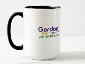 Gordon the Purple Jamaican Yam - Combo Mug