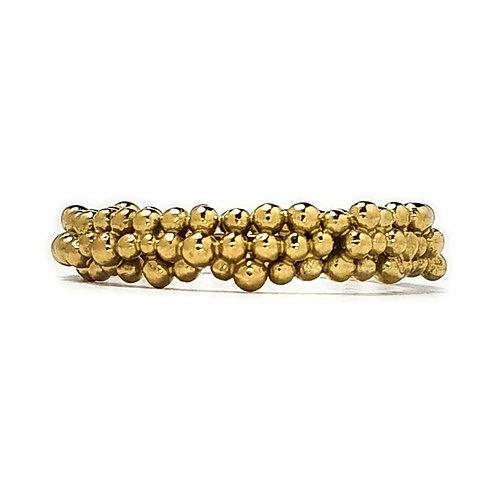 Midi Eternity Ring in 18k Gold Vermeil