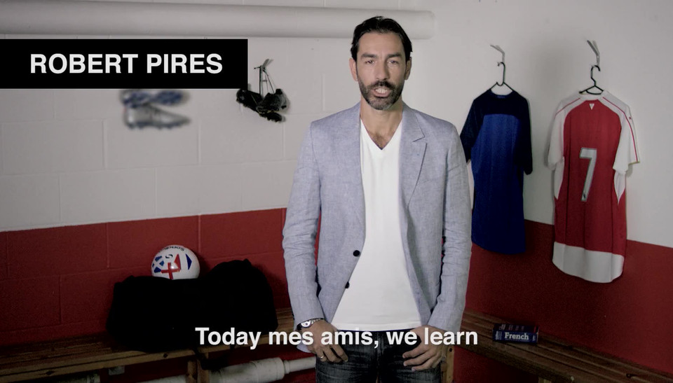 GREENFLAG WITH ROBERT PIRES | 'FRENGLISH'