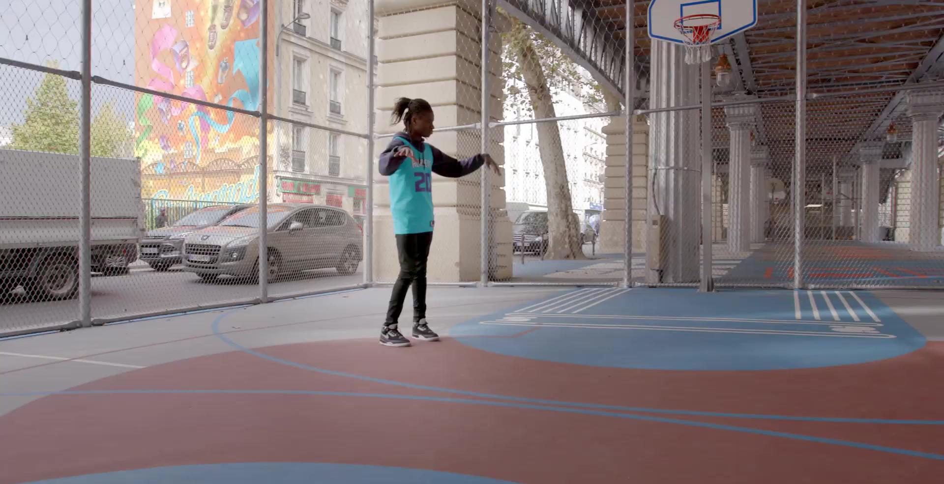 NBA  |  Paris Game 2020 Salif Lasource