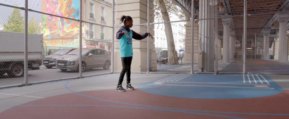 NBA     Paris Game 2020  Salif Lasource