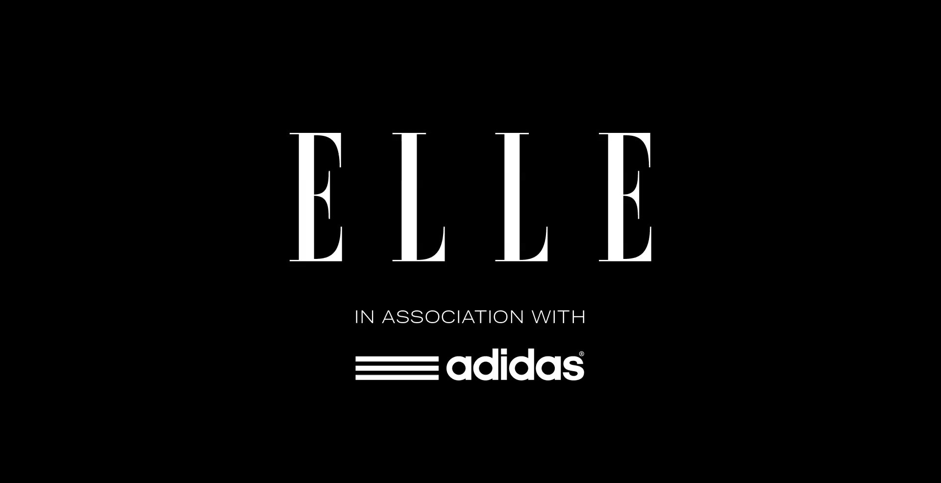 "ELLE + ADIDAS    ""MY GIRL'"