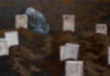4. grave 81x117cm 한지에 채색 2019 복