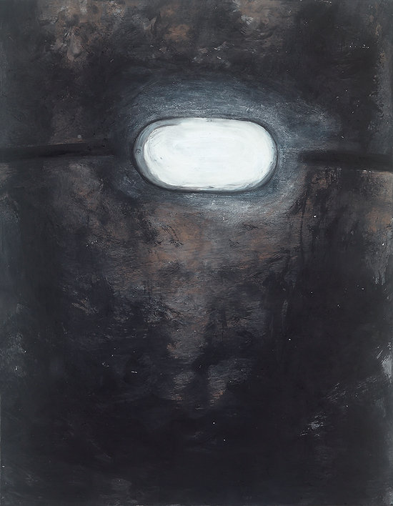 09.검은빛,53x45cm, 한지에 채색 2016.jpg