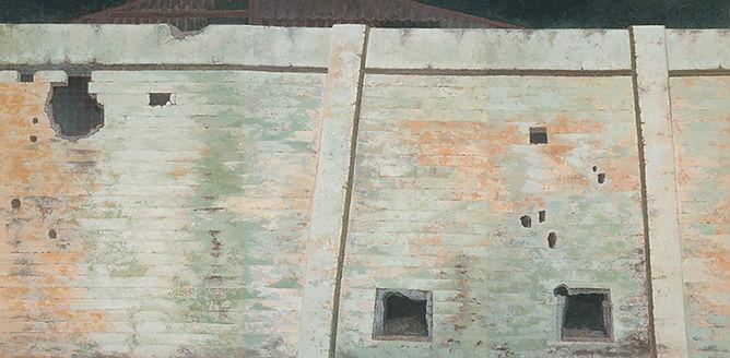 벽-공간의 기억  한지에 채색 194x391cm 2009.jpg