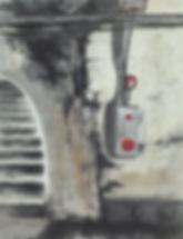 06.비상벨-65x50cm 한지에 채색 2016-1.jpg