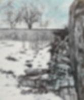 전은희 , 알수 없는 시간72.7X60.6cm, 한지에 채색, 2012.