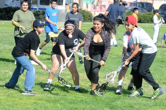 Goal of US Lacrosse Clinic Series is to promote diversity and inclusion in all communities