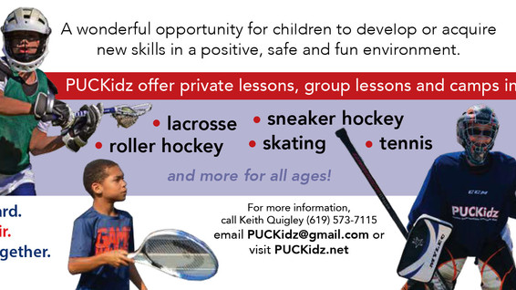 Check out all that PUCKidz has to offer!