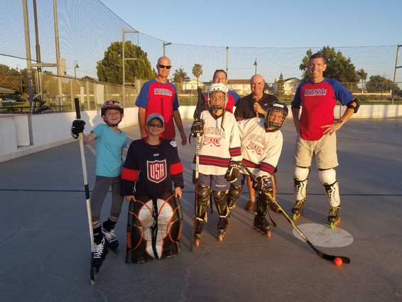 Finding Hockey and much more in Chula Vista.