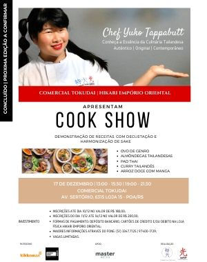 Cook Show by Yuko Tappabutt