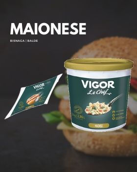 Maionese Vigor Le Chef