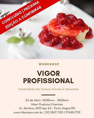 Workshop Vigor Profissional
