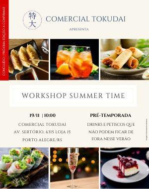 Workshop Summer Time Edição 19/11