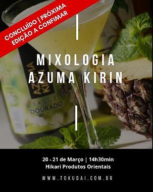 Workshop Mixologia Azuma Kirin