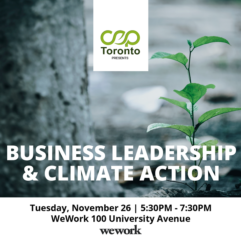 Business Leadership & Climate Action
