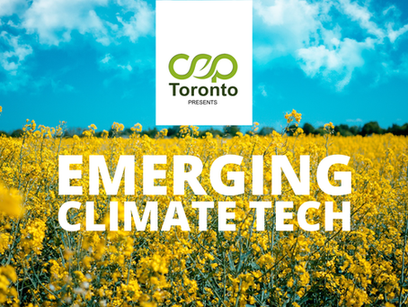 Panel Discussion on Emerging Climate Tech [Webinar]