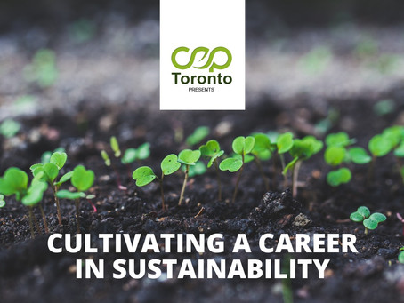 Cultivating a Career in Sustainability [Webinar]