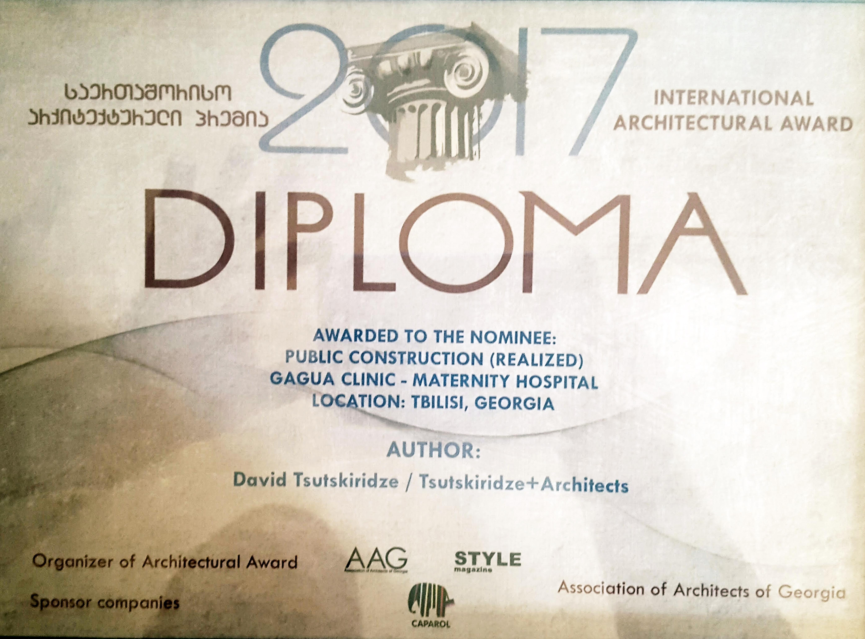 Architectural Award 2017