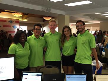 2016-2017 Officer Team at PBA Club Rush