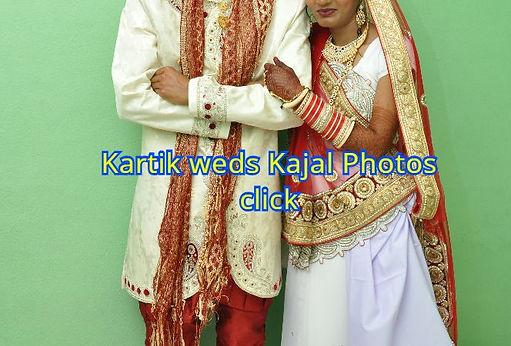 Kartik weds Kajal photos