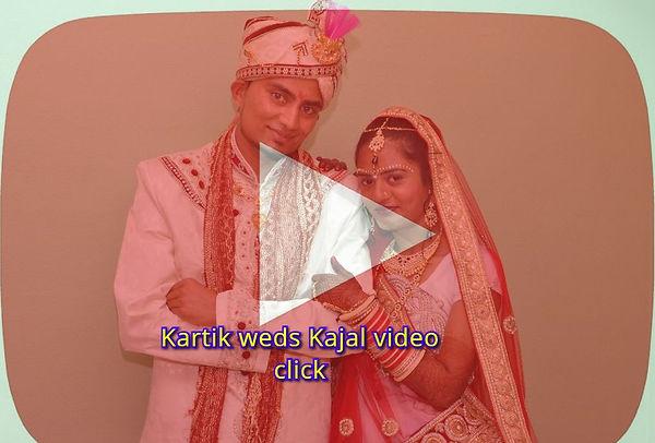 Kartik weds Kajal wedding video link