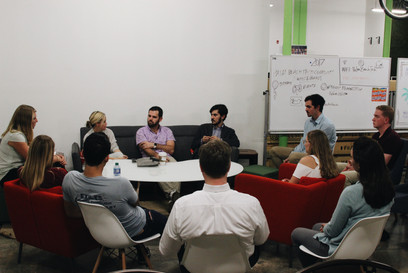 Professional Marketing Panel at the Palm Beach Tech Space.
