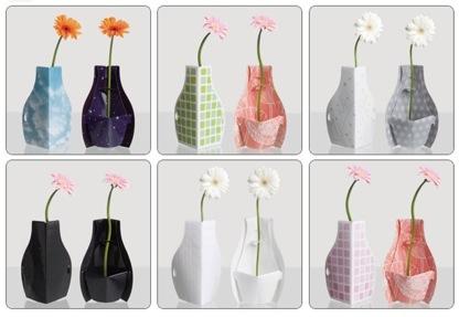 花瓶デザイン