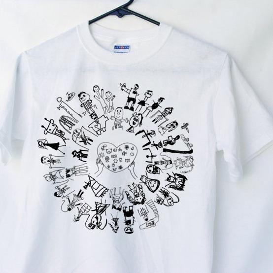 こども 絵 Tシャツ