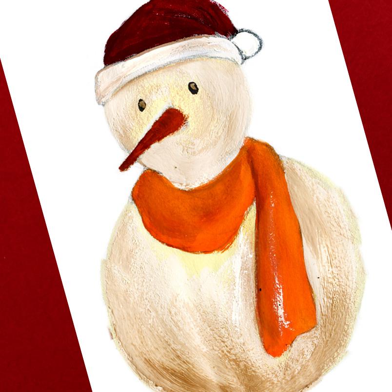 HERMES クリスマスカードデザイン