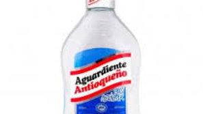 AGUARDIENTE ANTIO MED AZUL 375CC UND ANTIOQUEÑO